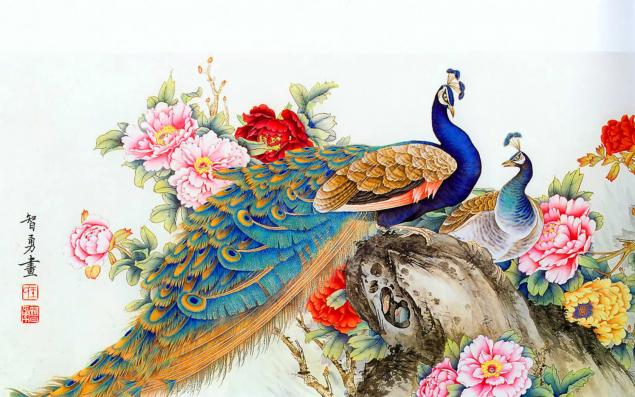 Птички нарисованные своими руками 71