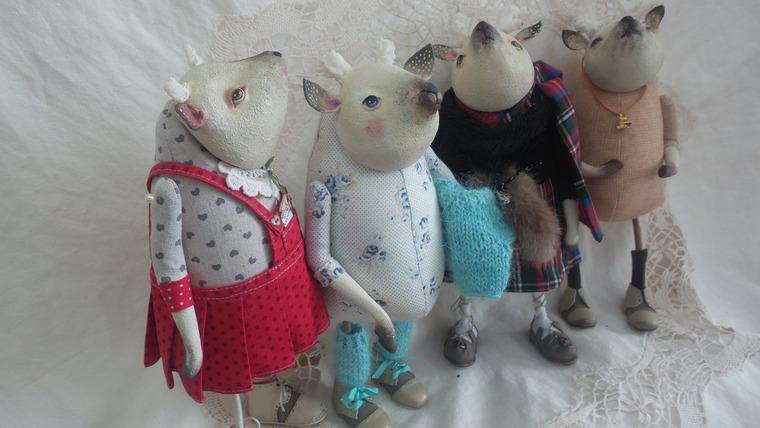 олени, мурманск, курсы по куклам