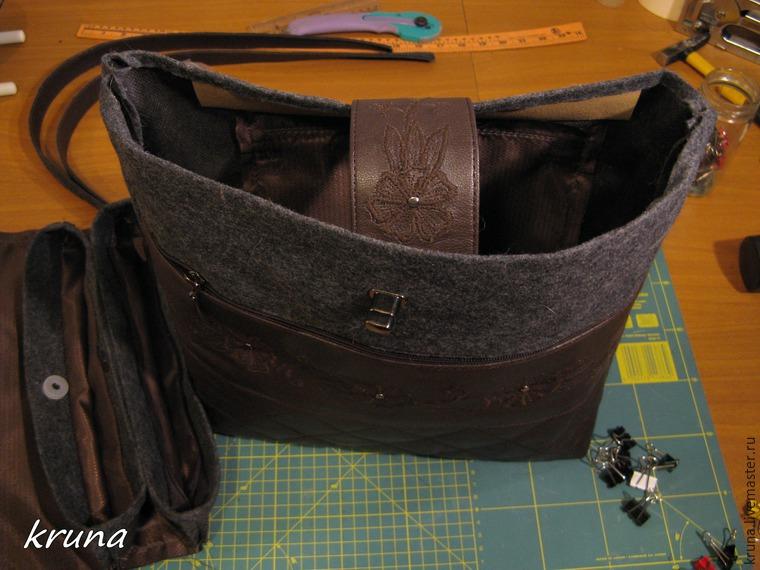 Купить кожаную сумку самому