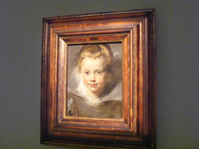 портреты, девочка