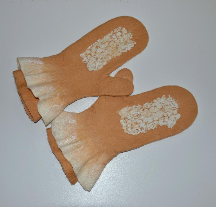 Как сделать шаблон для перчаток валяние 132