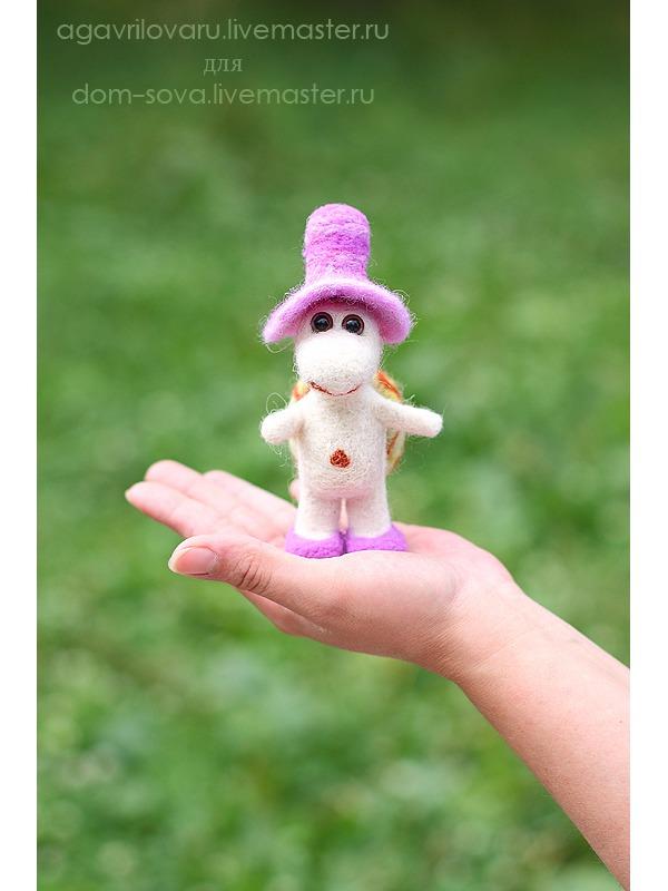фото, валяная игрушка