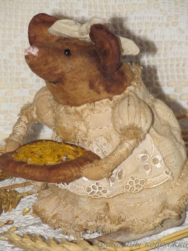 мыши, иришкины коврижки, тыквоголовка, чердачная кукла