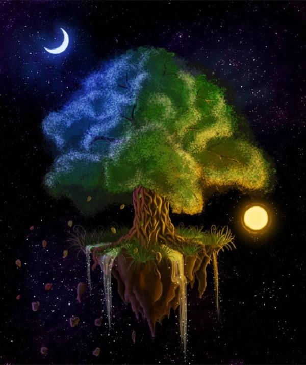 амулет дерево жизни