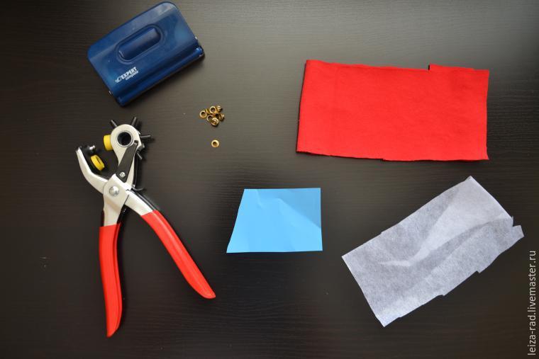 Как сделать люверсы из ткани 126