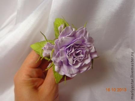цветоделие, цветы из фоамирана