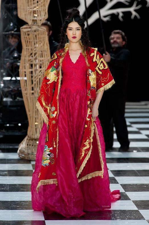 Franck Sorbier Haute Couture весна-лето 2014, фото № 20