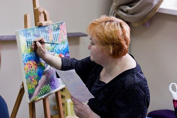 обучение живописи, курсы в мытищи