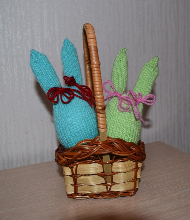 зайцы пасхальные, пасхальный сувенир, яйцо, пасха 2016