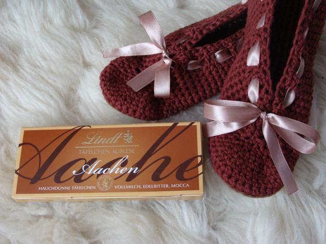 тапочки, подарок жене