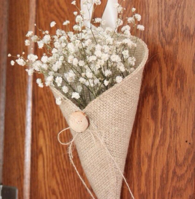 Льняная свадьба. Идеи для вдохновения, фото № 35