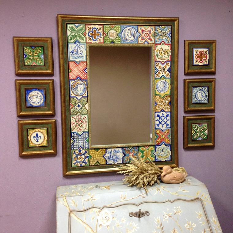 Как сделать зеркало в восточном стиле