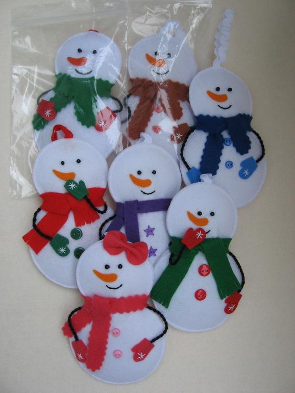 новый год, снеговик, снеговик своими руками