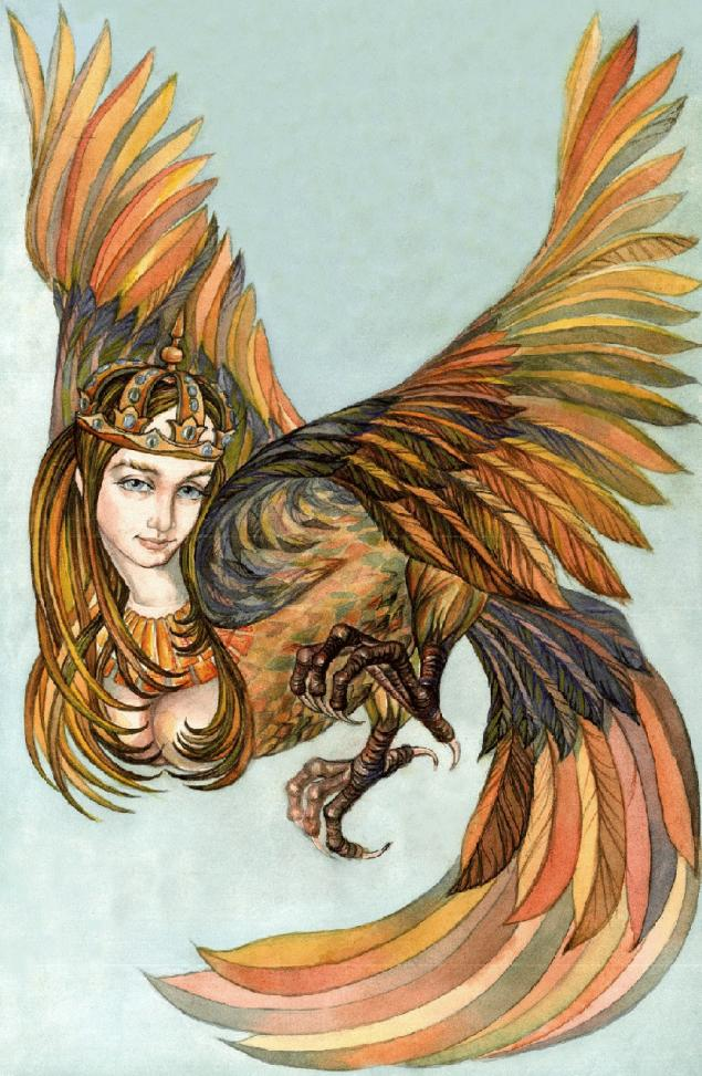 Сирин райские птицы древней руси