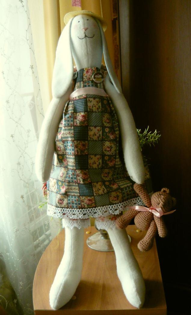 заяц, игрушка