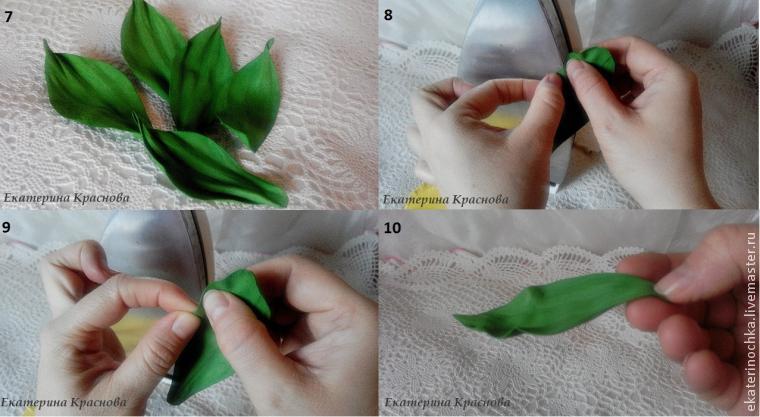 Тюльпаны из фоамирана своими руками с пошаговым