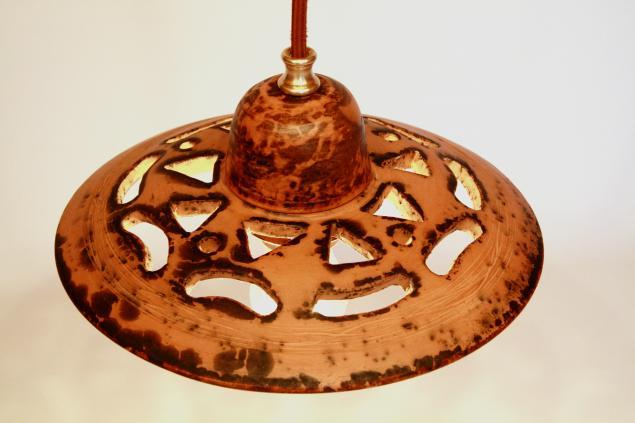 керамический плафон, изделия из керамики