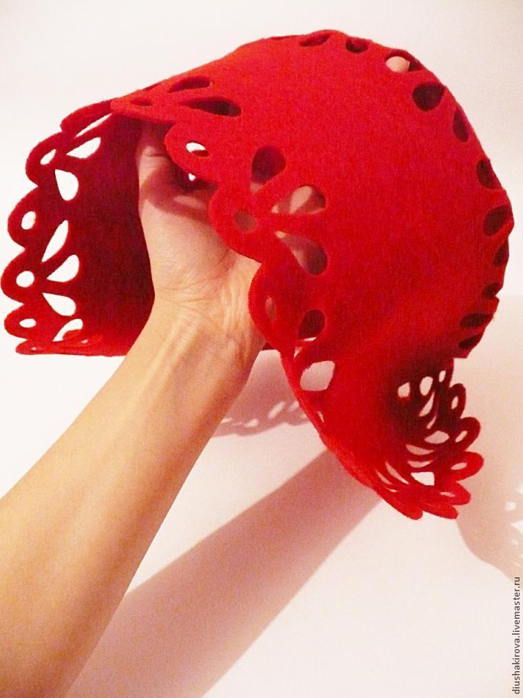 Шьем шапочку для Красной Шапочки Ярмарка Мастеров 46