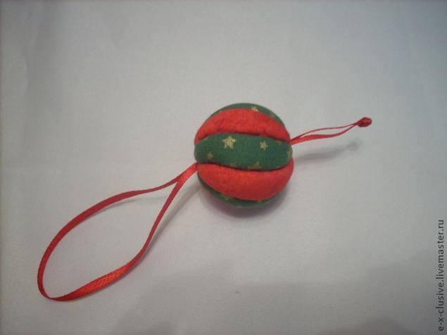 Елочные шары в технике кимекоми, фото № 14