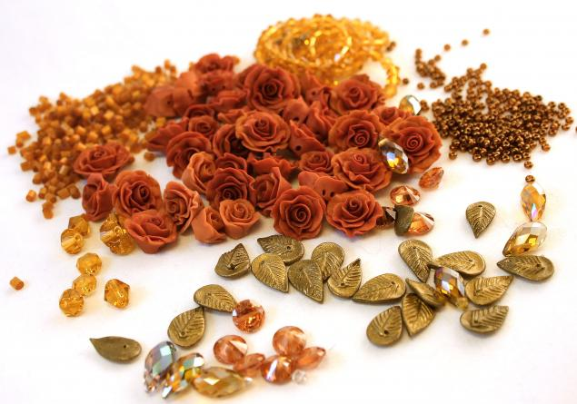 цветочный кулон, украшения с цветами