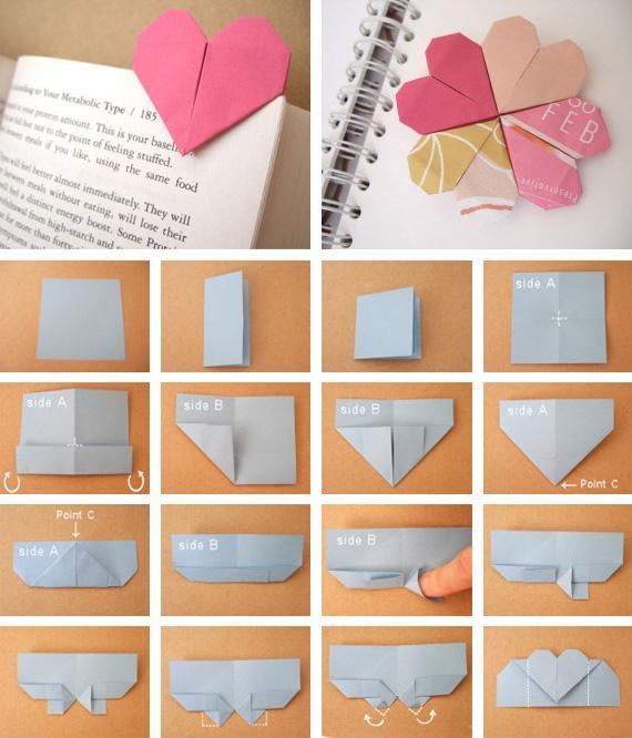 Как сделать своими руками закладку на уголок книги