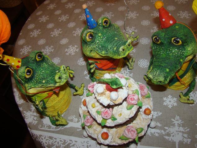 Зелёный крокопоратив, фото № 1