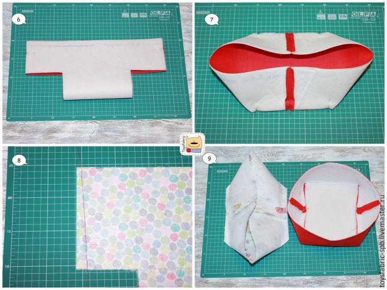 Как сшить текстиль своими руками