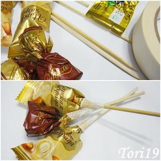 конфетный букет, подарок