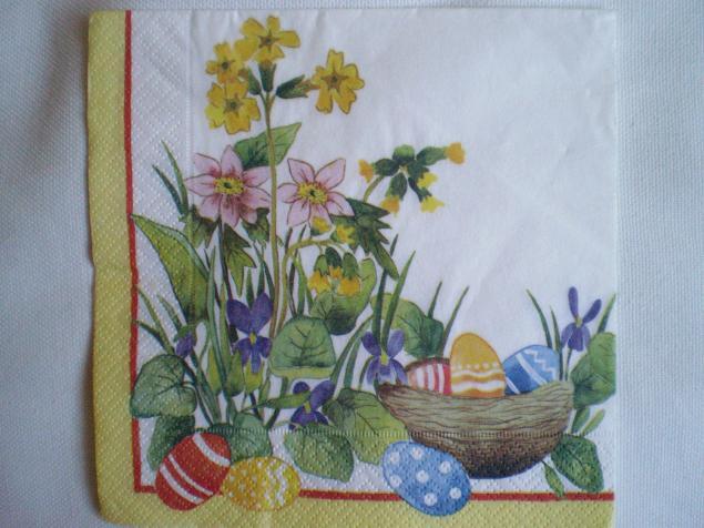 салфетки, детский, пасхальный кролик, зайцы, материалы для декупажа