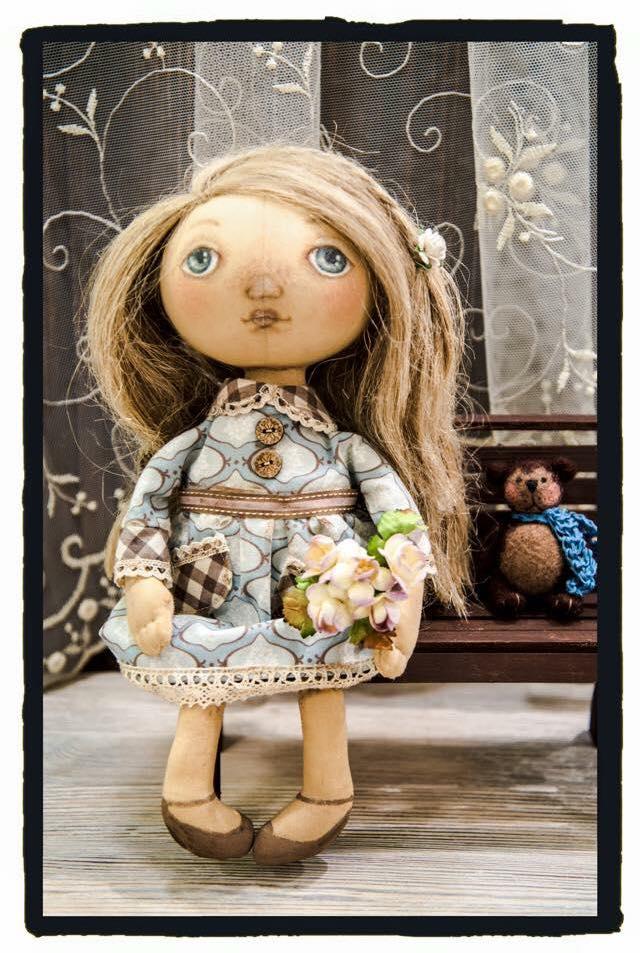 текстильные куклы, делаем сами, посиделки