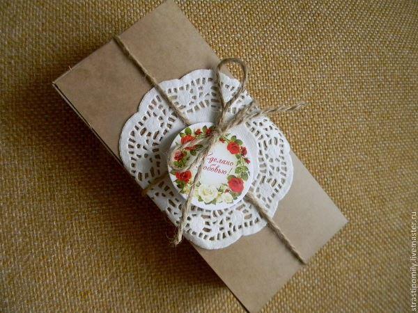 Подарочная упаковка в ЭКО стиле, фото № 6