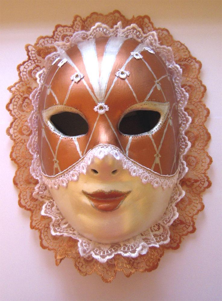 Фото декоративных масок для лица из бумаги