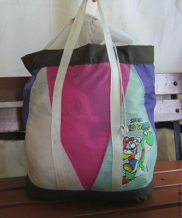 Сшит сумку из старого зонта 115
