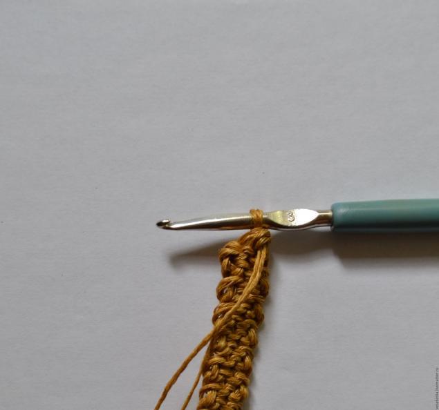 вязаные ручки для сумки