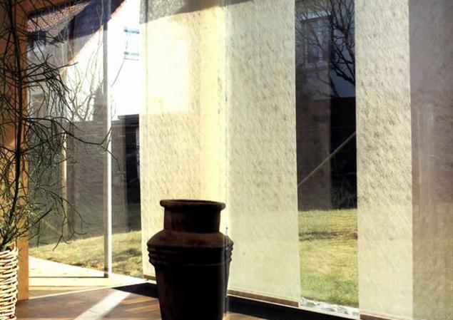 Японские панели шторы мастер класс фото #9