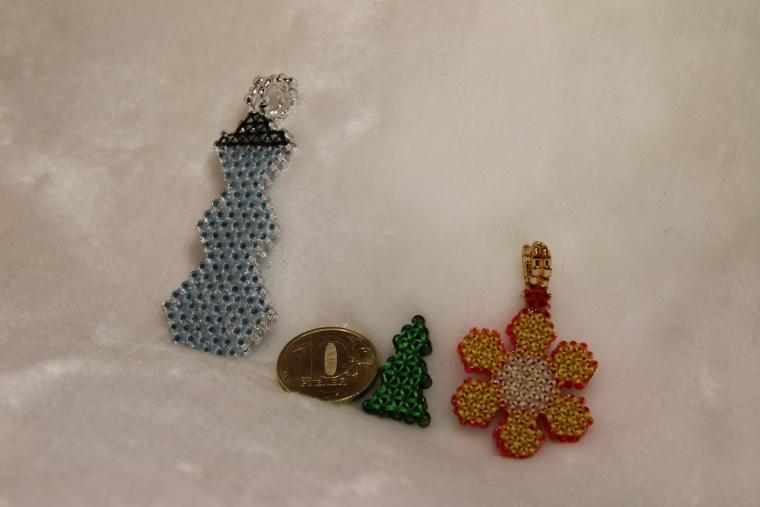 елочные игрушки, елочные игрушки на заказ, серьги на заказ, новогодний сувенир, сувенир на заказ, бесплатная доставка, бесплатная пересылка, новогодний подарок, рождественский подарок, новый год 2015, елочные игрушки из бисера, бисерный квиллинг