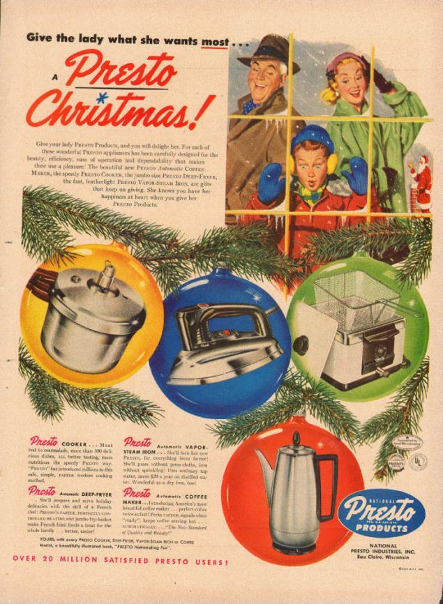 Новогодняя реклама Vintage/1951 -1956 включительно, фото № 33