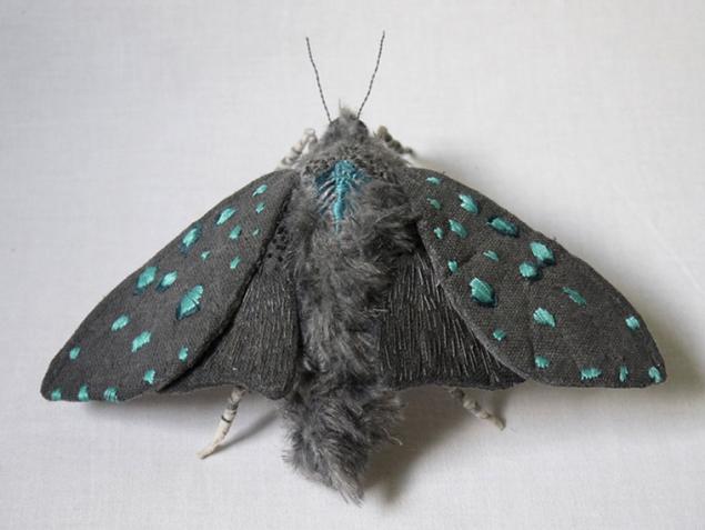 Дивные текстильные насекомые от мастера Yumi Okita, фото № 8