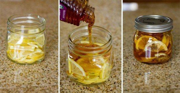 рецепт, рецепт от простуды, мед, лимон, имбирь, теплое пространство