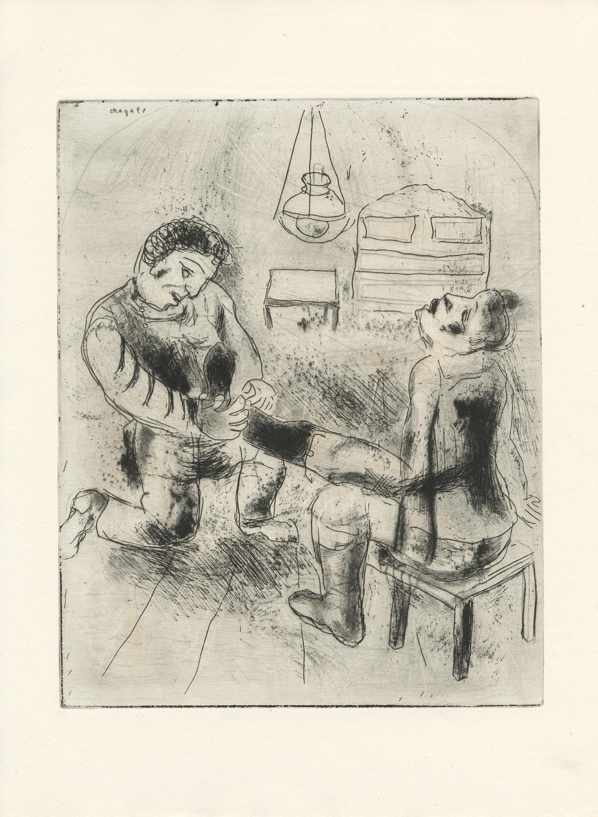 Черно-белая графика знаменитых художников, фото № 41