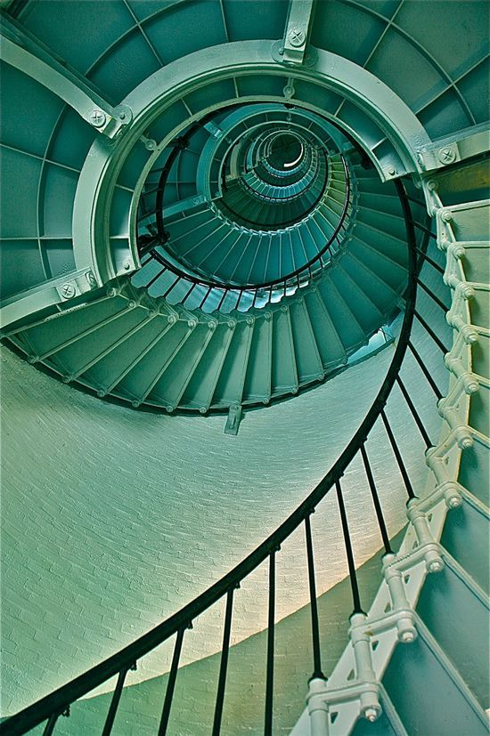Snail staircases
