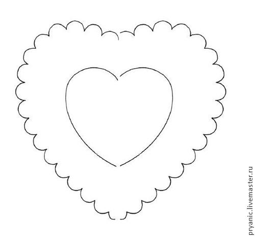 роспись пряника, видео урок, пряник сердце, сердце в горошек, пряник