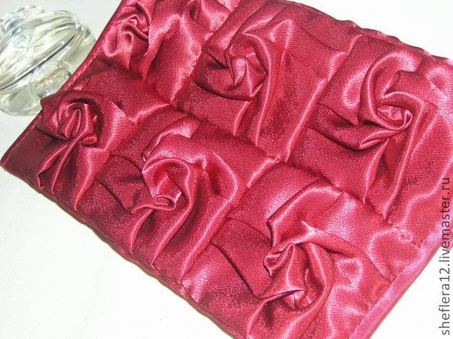 Как складывать ткань для лоскутного шитья.
