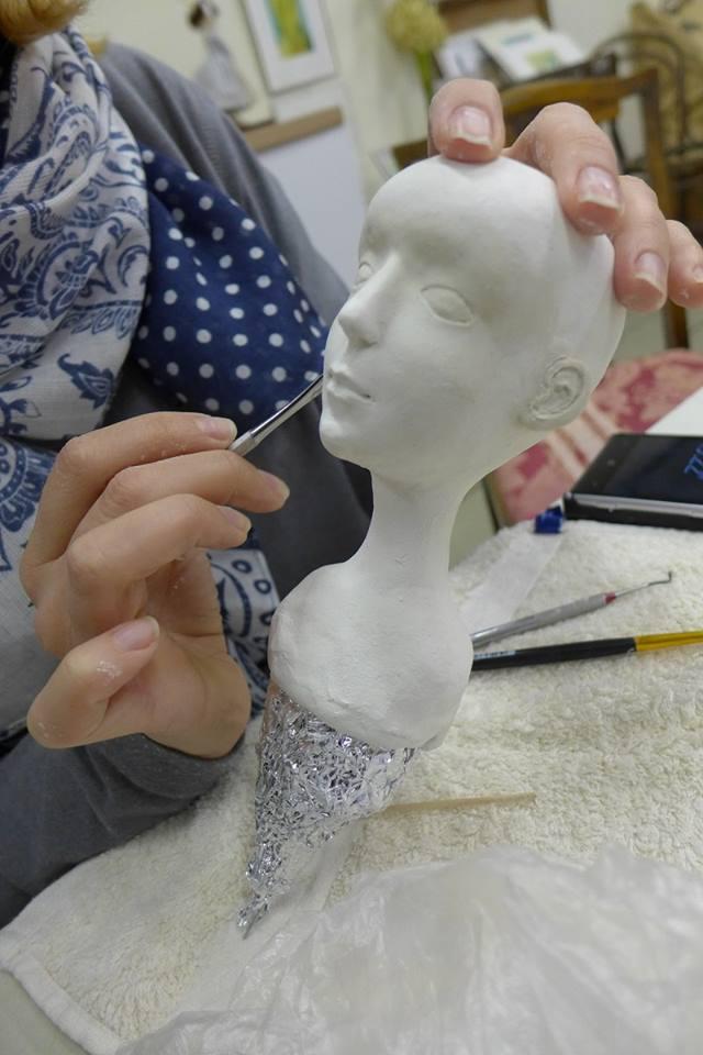 Мастер класс создания кукол из паперклея