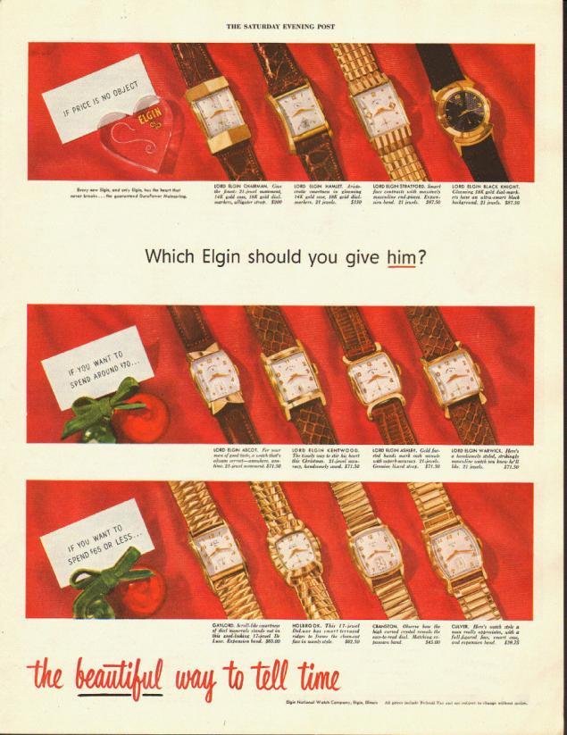 Новогодняя реклама Vintage/1951 -1956 включительно, фото № 12