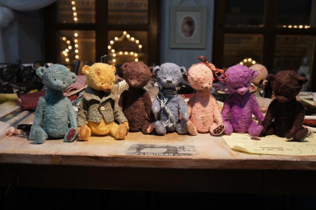 мишки тедди, игрушки ручной работы, мишки