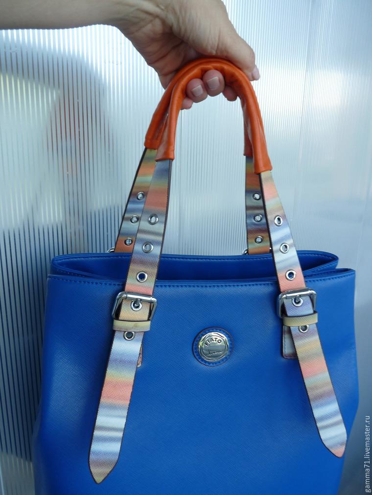 3e9c0dba1717 Простой способ отремонтировать ручки любимой сумки – мастер-класс для  начинающих и профессионалов