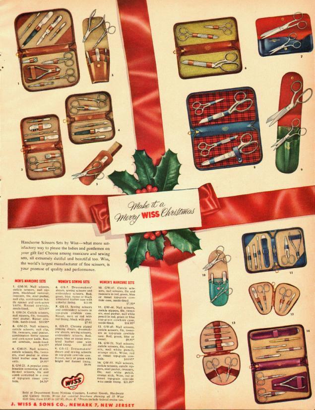Новогодняя реклама Vintage/1951 -1956 включительно, фото № 30