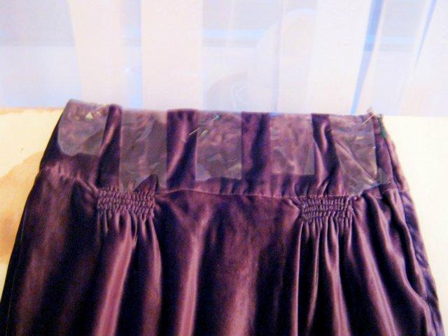 юбка, выровнять низ юбки