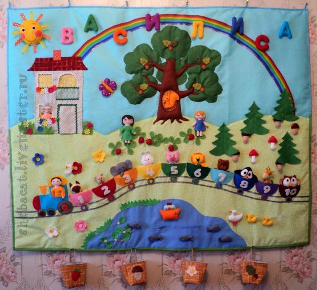 Картина из фетра своими руками в детском саду